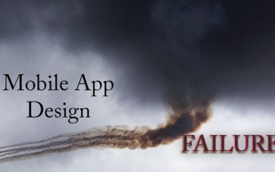 How to Dodge Mobile App Design Failure